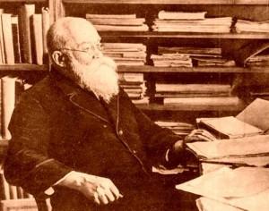 Михаил Грушевский – председатель Украинского научного общества
