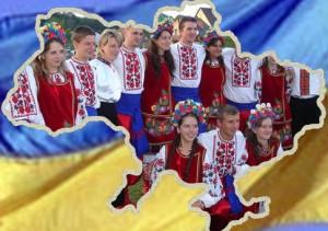 Дети на мордовском празднике